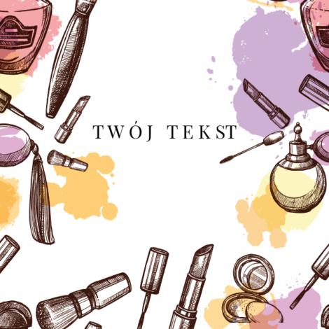 projekt krówki firmowej kosmetycznej