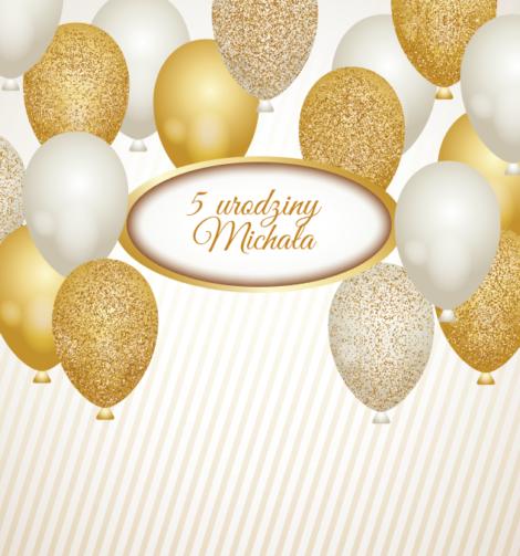 Krówki urodzinowe złote