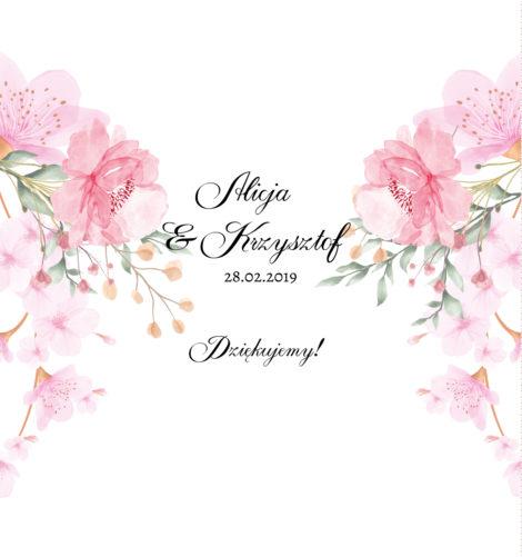 Krówki z pudrowym kwiatem