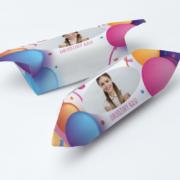 krówki na urodziny w balony ze zdjęciem dziecka