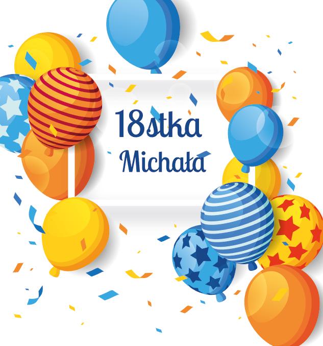 Krówki urodzinowe balony