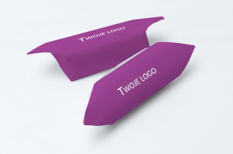 Krówki firmowe twoje logo różowe
