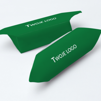 Krówki firmowe twoje logo zielone