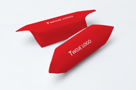 Krówki firmowe twoje logo czerwone