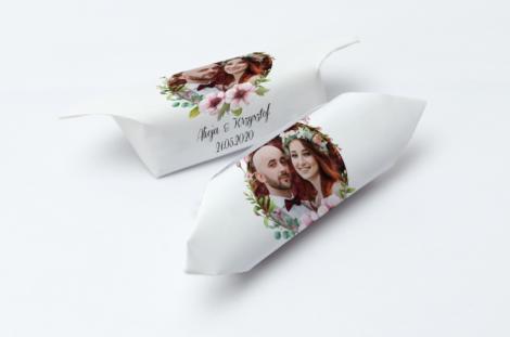 Krówki weselne ze zdjęciem