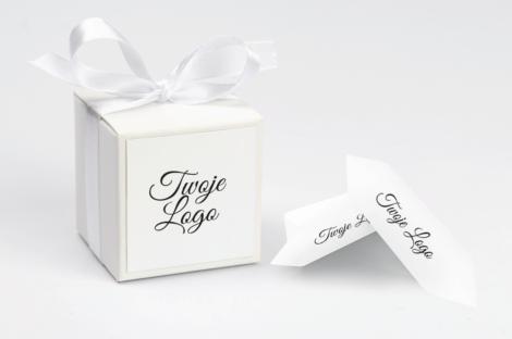 personalizowane pudełeczko na krówki z twoim logo