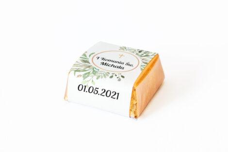 czekoladka z personalizacją komunijna